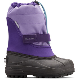 Columbia Powderbug Plus II Bottes Enfant, emperor/paisley purple